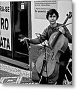 Have Cello Will Play Metal Print