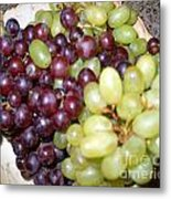 Have Some Grapes Metal Print