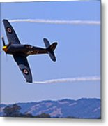 Hawker Sea Fury Metal Print