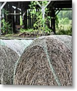 Hay Metal Print by JC Findley