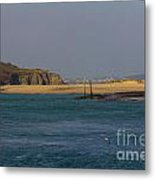 Hayle Harbour Metal Print