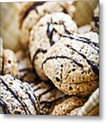 Hazelnut Cookies Metal Print