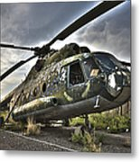 Hdr Image Of An Afghanistan National Metal Print