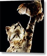 He Got Away Metal Print
