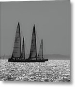 Heading Home Bramble Bank Metal Print
