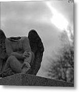 Headless Angel Metal Print