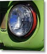 Headlight Metal Print