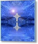 Healing Waters Metal Print