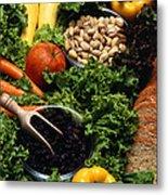 Healthy Foods Metal Print