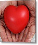 Heart Disease Prevention Metal Print
