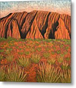 Heart Of Australia Metal Print by Lisa Frances Judd