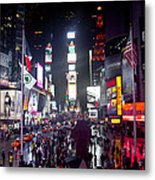 Heart Of Times Square Metal Print