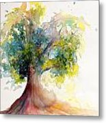 Heart Tree Metal Print