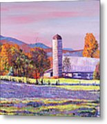 Heartland Morning Metal Print