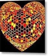 Heartline 7 Metal Print
