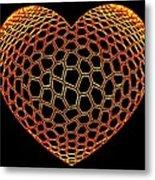 Heartline 9 Metal Print