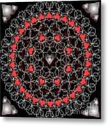 Hearts And Lace 2012 Metal Print