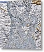 Hearts Cold As Ice Metal Print