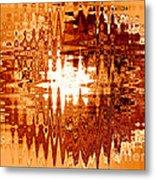 Heat Wave - Abstract Art Metal Print