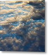 Heavenly Clouds Metal Print