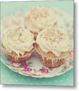 Heavenly Cupcakes Metal Print by Karin A photography