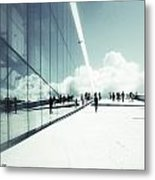 Heavenly Walk In Oslo 2 Metal Print by Marianne Hope