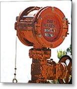 Heavy Duty Mailbox Metal Print by Gregory Scott