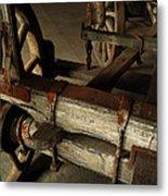 Heavy Hauler - Vintage Wagon Metal Print