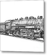 Heavy Steam Switcher 0-10-0 Metal Print