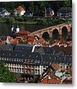 Heidelberg Germany Metal Print