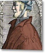 Heinrich Cornelius Agrippa, German Metal Print