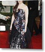 Helena Bonham Carter Wearing A Viviene Metal Print by Everett