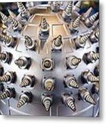 Helical Array Antenna Metal Print