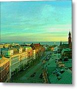 Helsingborg And Oresund Beyond Metal Print