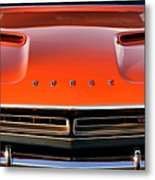 Hemi Orange 1971 Dodge Challenger Metal Print