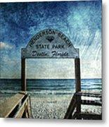 Henderson Beach State Park Florida Metal Print