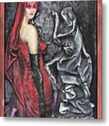 Her And The Ghost Metal Print