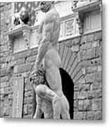 Hercules And Cacus Metal Print