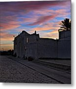 Here Goes The Sun Across The Atlantic Metal Print