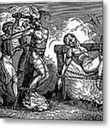 Heresy: Torture, C1550 Metal Print