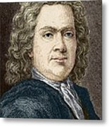 Hermann Boerhaave, Dutch Physician Metal Print