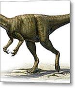 Herrerasaurus Ischigualastensis Metal Print
