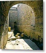 Hezikiahs Tunnel Pool Of Shiloah Metal Print