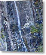 Hickory Nut Falls Chimney Rock State Park Metal Print