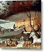 Hicks: Noahs Ark, 1846 Metal Print by Granger