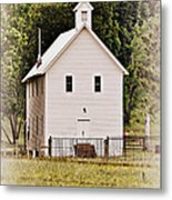 Hidden Church Metal Print