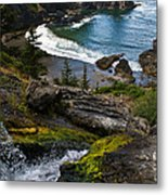 Hidden Cove Metal Print