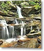 Hidden Falls At Hanging Rock Metal Print