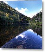 Hidden Mountain Pond  Metal Print