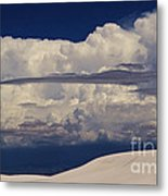 Hidden Mountains In The Shadows Of The Storm Metal Print